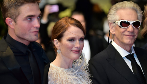 Robert Pattinson, Julianne Moore i David Cronenberg