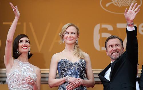 """Paz Vega, Nicole Kidman i Tim Roth a la presentació de """"Grace"""" a Cannes"""