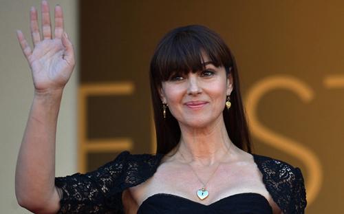"Monica Belucci a la catifa vermella per presentar ""The Wonders"""