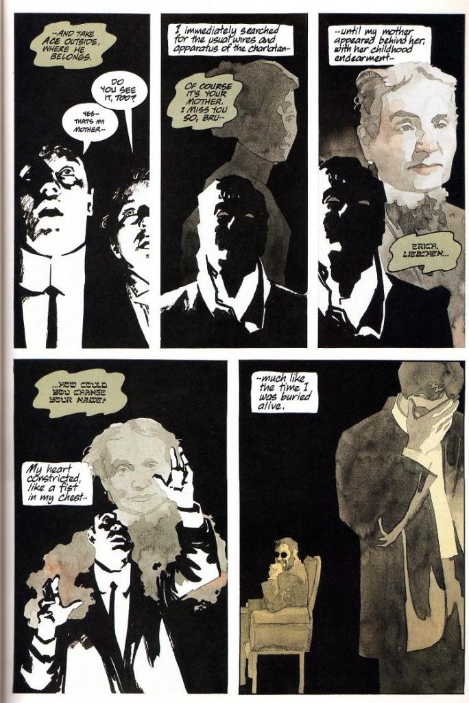 "Viñetas de ""Batman/Houdini: El taller del diablo"" (ECC)"