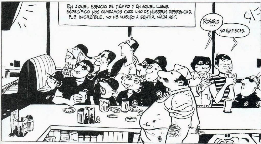 """Vinyeta de """"Rosario y los Inagotables"""" de Laperla i Kosinski."""