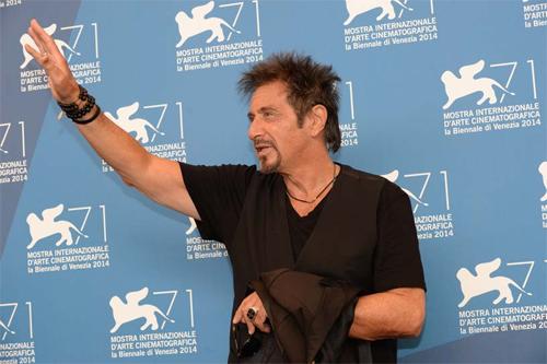 Al Pacino a la Mostra de Venecia
