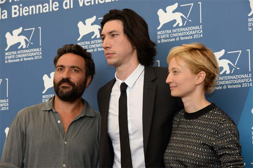 "Saverio Costanzo, Adam Driver i Alba Rohrwacher presenten ""Hungry Hearts"" a Venecia"
