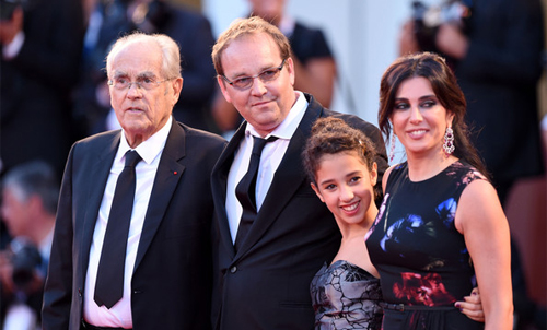 L'equip de 'La rançon de la gloire' a la premiere de la pel.lícula
