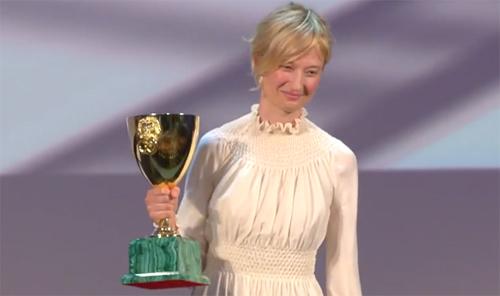 Alba Rohrwacher, Copa Volpi a la Millor Actriu