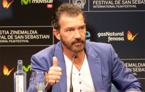 """Antonio Banderas a la presentació de """"Automata"""""""