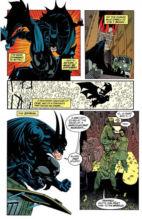 "Vinyeta de ""Batman. Fundido en negro"" ECC"