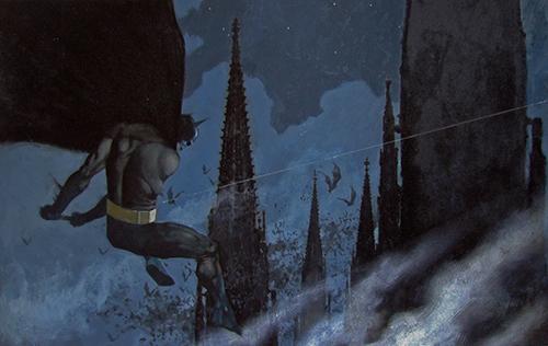 """Vinyeta de """"Batman, gritos de la noche"""" ECC"""
