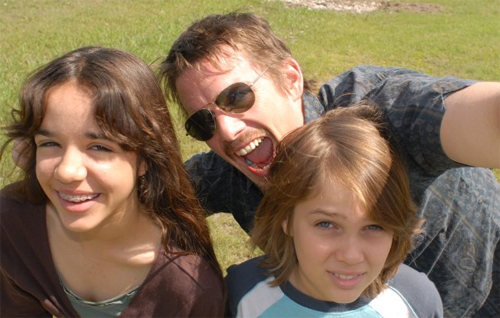 "Lorelei Linklater, Ethan Hawke i Ellar Coltrane a ""Boyhood"""