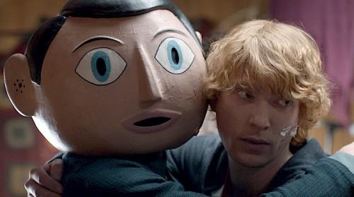 "Domhnall Gleeson i Michael Fassneber. ""Frank""."