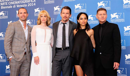 "El cast de ""Good Kill"" a la presentació del film a Venecia"