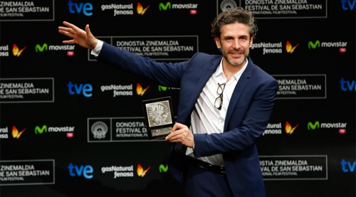 "Leonardo Sbaraglia recull el premi per ""Relatos Salvajes"""