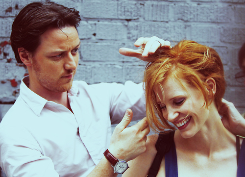 """James McAvoy i Jessica Chastain a """"La desaparición de Eleanor Rigby"""""""