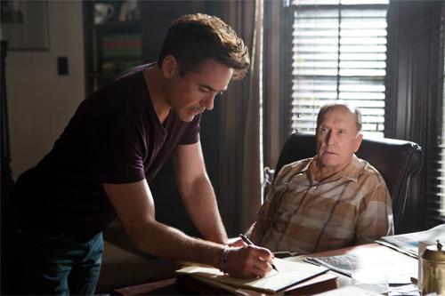 """Robert Downey Jr. i Robert Duvall a """"El juez"""""""