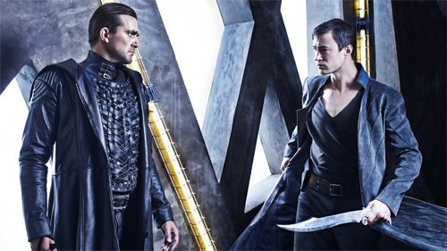 "Carl Beukes i Tom Wisdom a ""Dominion"""