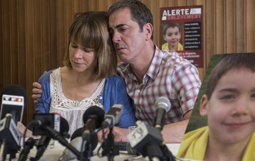 "Frances O'Connor i James Nesbitt a ""The missing"""