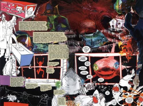"Vinyetes de ""Sandman: Noches Eternas"" de Neil Gaiman"