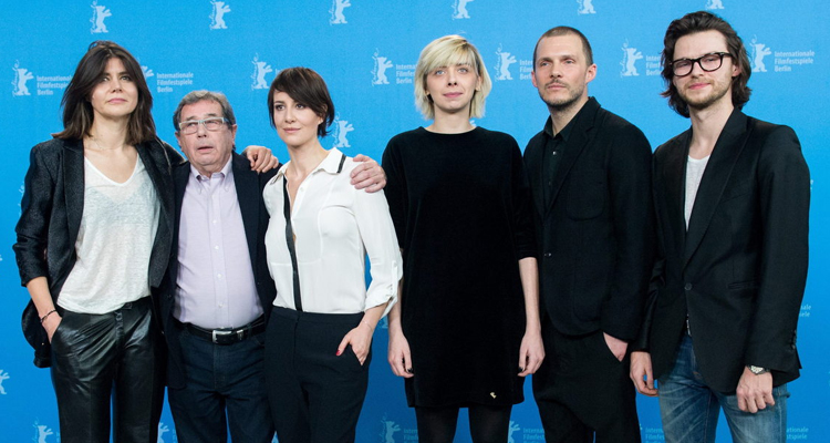 El equipo de Body en la Berlinale