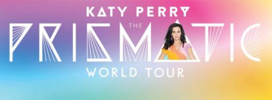 """Imatge promocional de """"Prismatic World Tour"""" de Katy Perry. El 16 de Febrer a Barcelona"""