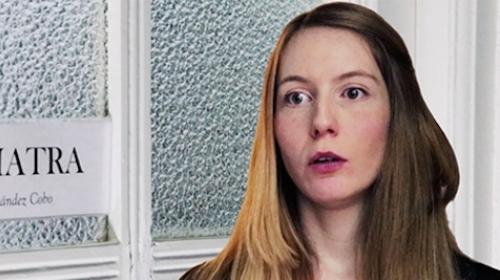 Cristina Gómez Rubia en apuros