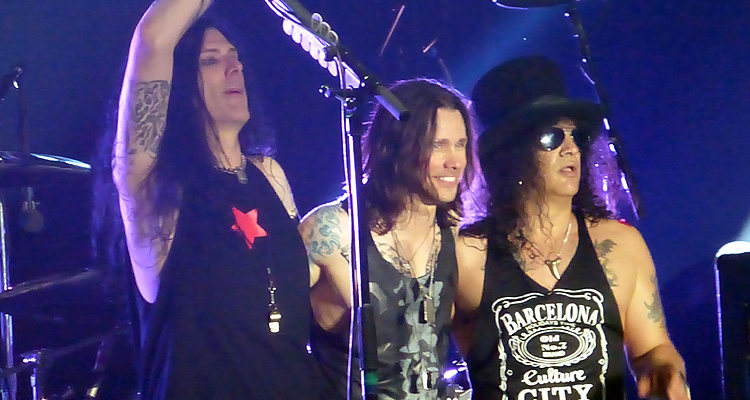 Todd Kerns, Myles Kennedy, Slash