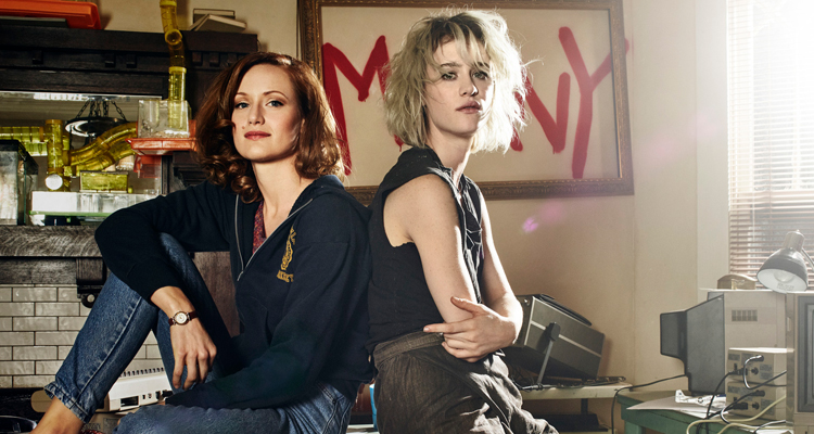 "Kerry Bishé i Mackenzie Davis a ""Halt and catch fire"""