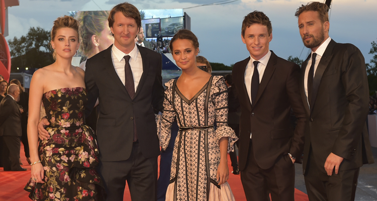 "El equipo de ""The danish girl"""
