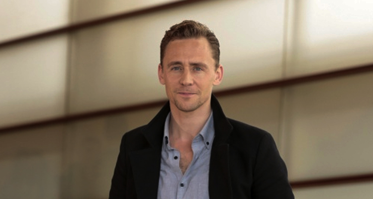 "Tom Hiddleston, protagonista de ""High Rise"". Foto: Montse Castillo"