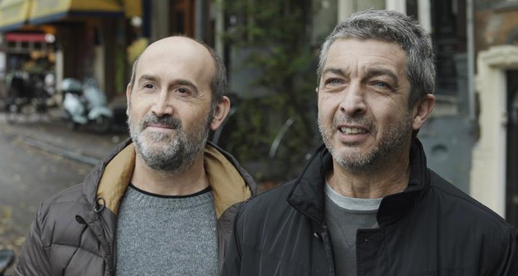 """Javier Cámara i RIcardo Darín a """"Truman"""" de Cesc Gay"""