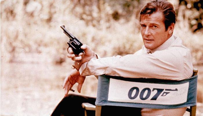 Roger Moore, el Bond més irònic