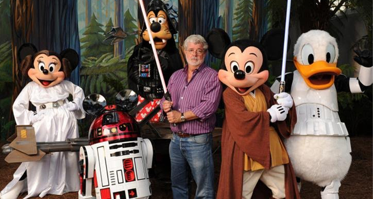 George Lucas y Disney
