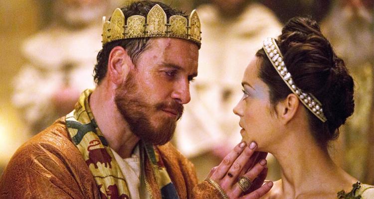 Michael Fassbender i Marion Cotillard a Macbeth