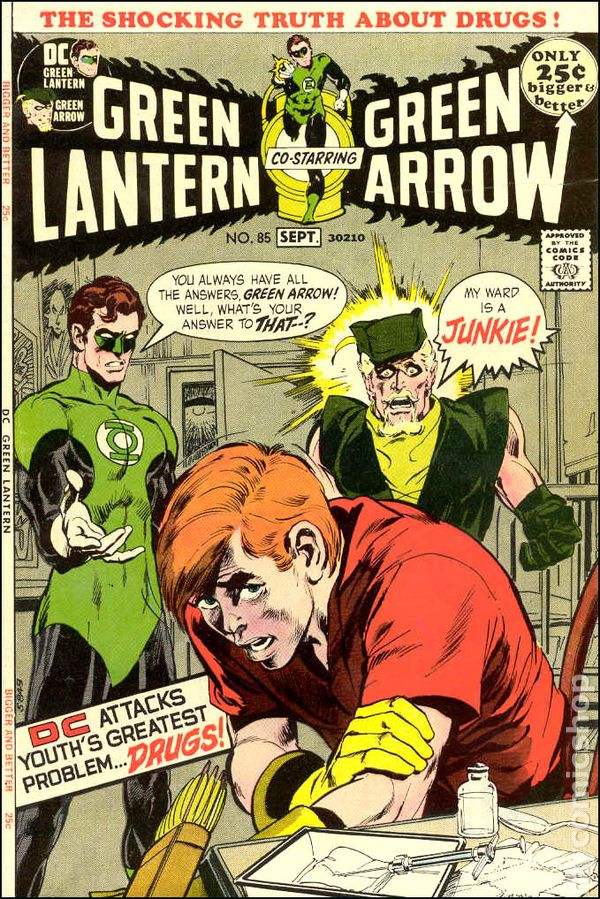 "Portada original ""Green Arrow"" n.85"
