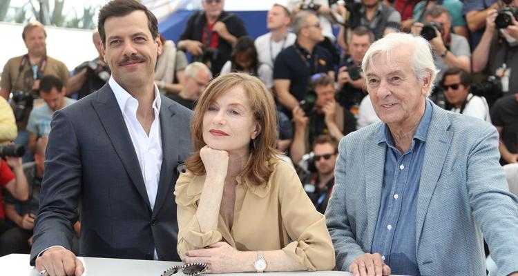 Elle Cannes Paul Verhoeven Isabelle Huppert