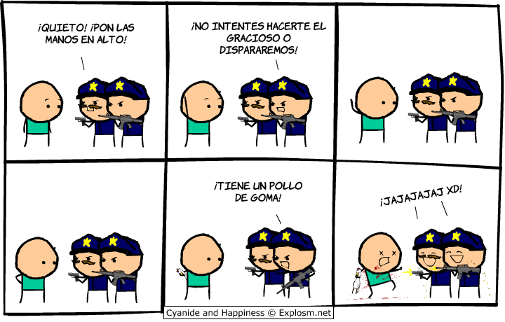 """Cyanide & Happiness"" Planeta Cómics"