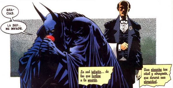 """""""Batman vampiro"""" ECC"""
