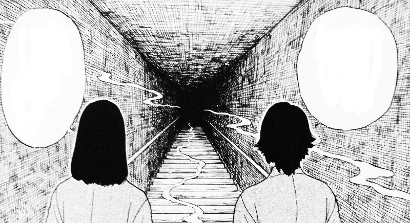 """Punzadas de Fantasmas"" (Kai, sasu 怪、刺す) de Hirokatsu Kihara, Junji Ito [ECC Ediciones]."