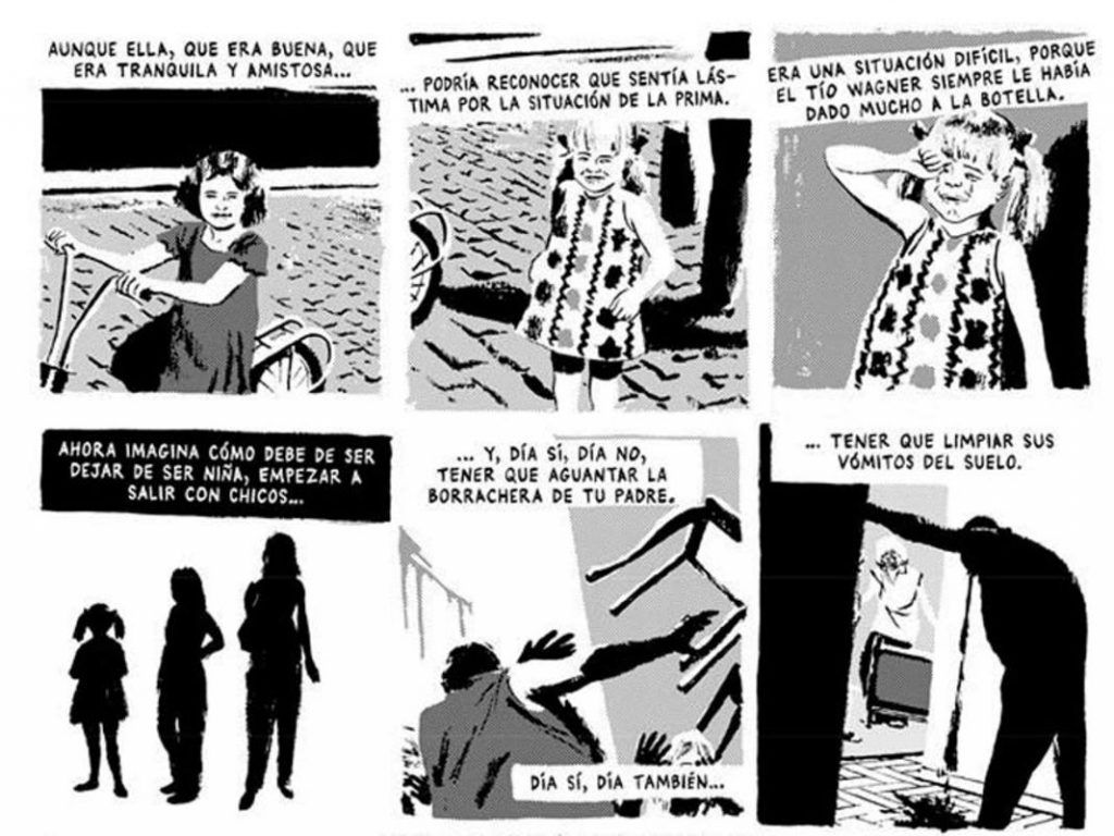 Talco de vidrio. Marcello Quintanilha. Ediciones La Cúpula.