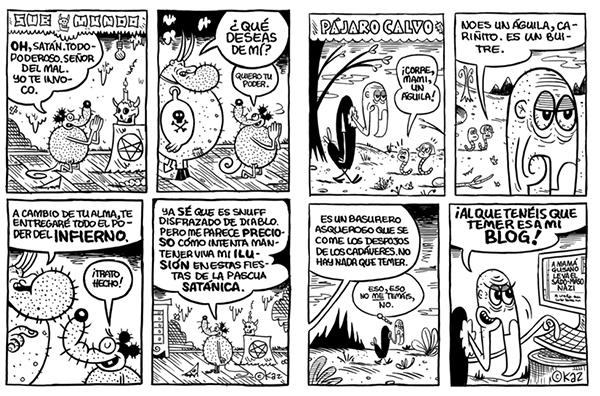 """""""El Tercer Submundo"""" Kaz. Autsaider Cómics"""
