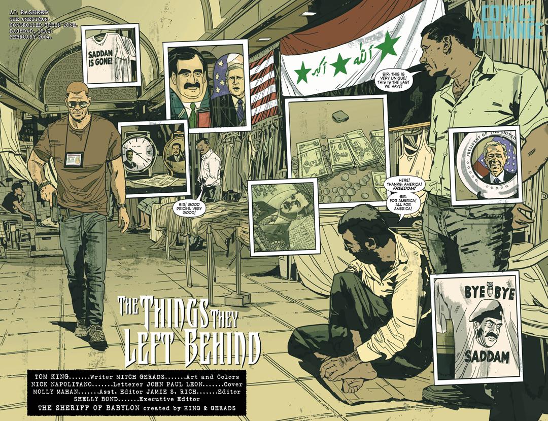 El Sheriff de Babilonia (ECC Ediciones) - Tom King & Mitch Gerads