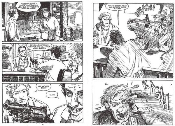 """Una historia de violencia"", de John Wagner & Vince Locke (ECC)"