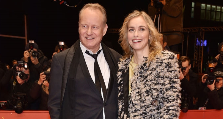Els actors Stellan Skarsgard i Nina Hoss