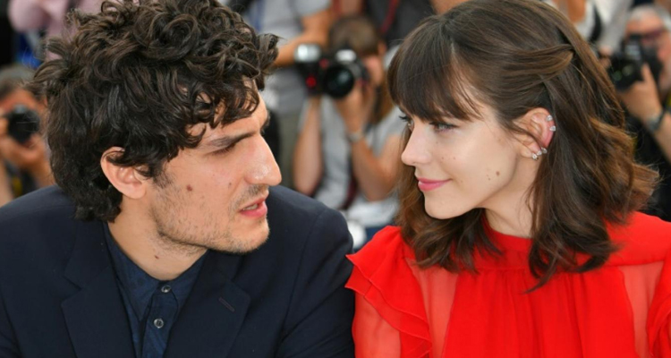 Louis Garrel Stacy Martin Le Redoutable Cannes
