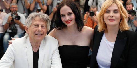 Roman Polanski Eva Green Emmanuelle Seigner Cannes