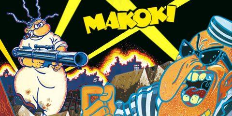 Makoki. Fuga en la modelo de Gallardo & Mediavilla . Ediciones La Cúpula.
