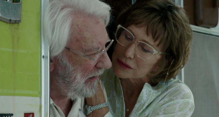 The Leisure Seeker Helen Mirren Donald Sutherland