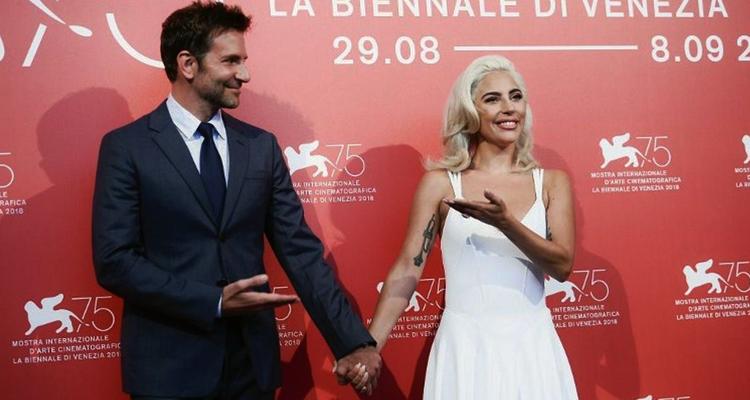 Ha nacido una estrella Lady Gaga Bradley Cooper Venecia