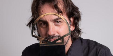 Isaki Lacuesta Concha de Oro. Foto: Jorge Fuembuena