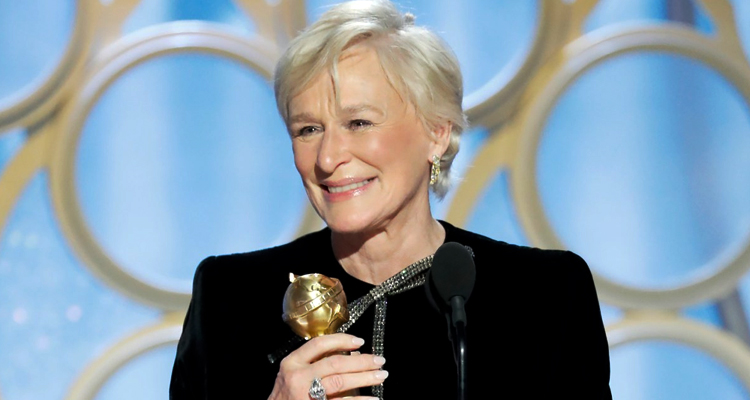 Globus d'Or Glenn Close
