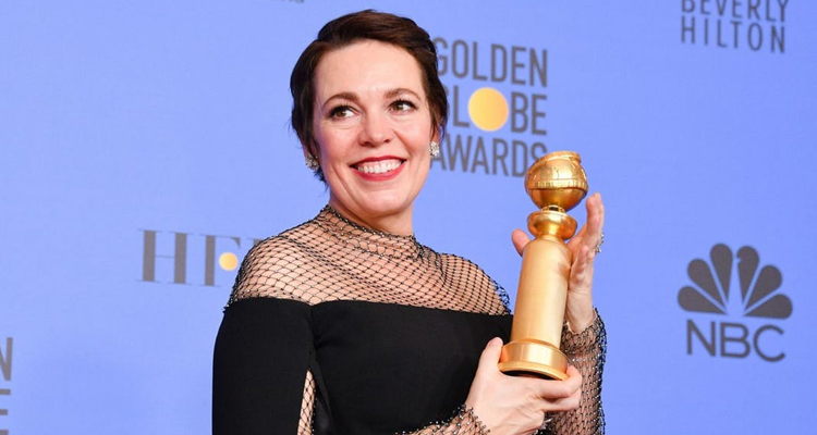 Globus d'Or Olivia Colman